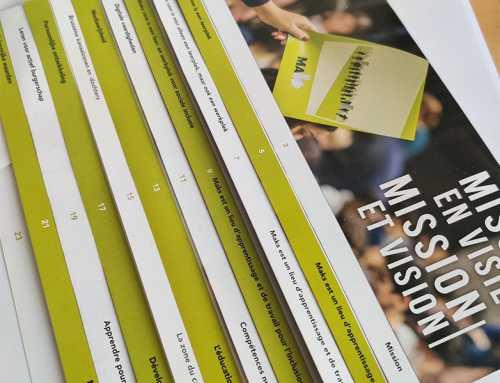 Brochure/Folder Missie en Visie